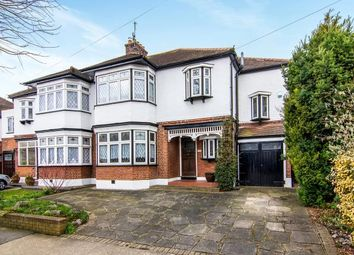Thumbnail 4 bed semi-detached house for sale in Lake Rise, Gidea Park, Romford