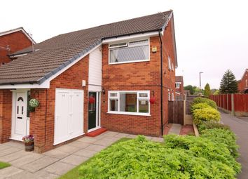 Thumbnail 2 bed flat for sale in Sandheys, Denton, Manchester
