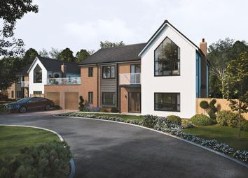 Thumbnail 5 bed detached house for sale in Fallow Park, Rugeley Road, Hednesford, Cannock