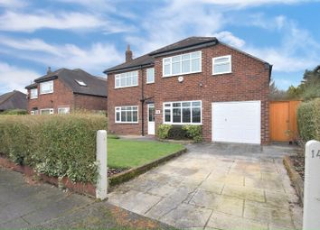 Thumbnail 4 bedroom detached house for sale in Langley Road, Sale