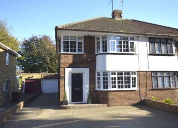 Thumbnail 3 bed semi-detached house for sale in Berengrave Lane, Rainham, Gillingham