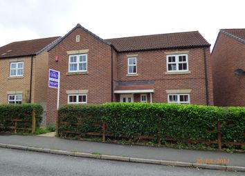 Thumbnail 4 bed detached house to rent in Greenfinch Crescent, Witham St Hughs