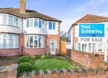 Thumbnail 3 bedroom semi-detached house for sale in Alton Grove, West Bromwich