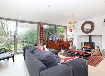 Thumbnail 6 bed detached house to rent in London Road, Rake, Liss