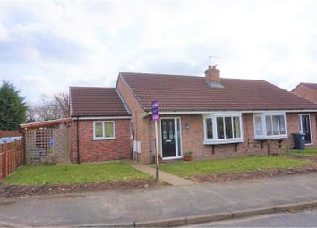 Thumbnail 3 bed bungalow for sale in Pinewood Drive, Selby