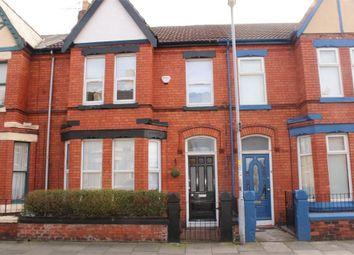 Thumbnail 4 bed terraced house for sale in Handfield Road, Waterloo, Merseyside