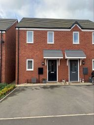 Thumbnail 2 bed semi-detached house for sale in Winding House Drive, Hednesford, Cannock