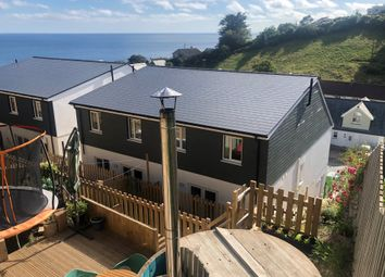 Thumbnail 4 bed semi-detached house for sale in Trerose Coombe, Downderry, Torpoint