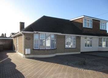 Thumbnail 3 bedroom semi-detached bungalow to rent in Cornhill Avenue, Hockley