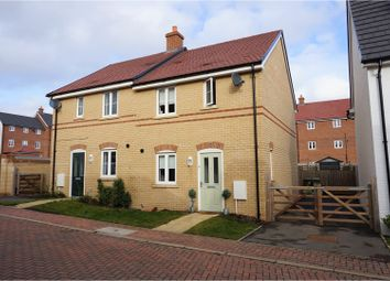 Thumbnail 3 bed semi-detached house for sale in Cyprus Way, Newton Leys
