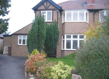 Thumbnail 3 bed semi-detached house to rent in Castle Drive, Heswall, Wirral