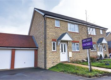 Thumbnail 3 bed semi-detached house for sale in Lapwing Lane, Swindon