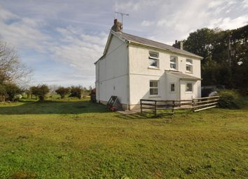 Thumbnail 4 bed farmhouse for sale in Llanarthney, Carmarthen
