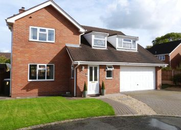 Thumbnail 4 bed detached house for sale in Minton Close, Congleton, Cheshire