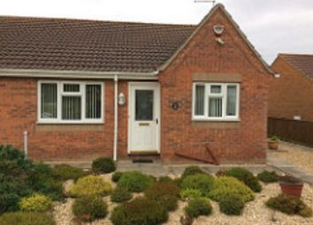 Thumbnail 2 bed semi-detached bungalow to rent in St. Edmunds Close, Wainfleet St. Mary, Skegness