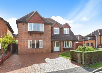 Thumbnail 4 bed detached house for sale in Highfields, Westoning