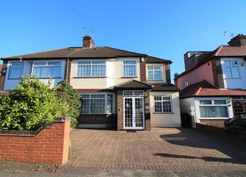 Thumbnail 5 bed semi-detached house for sale in Dorset Avenue, Norwood Green