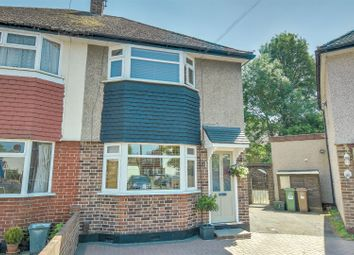 Thumbnail 3 bed semi-detached house for sale in Ansell Grove, Carshalton
