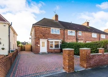 Thumbnail 3 bed end terrace house for sale in Bassett Street, Wednesbury, West Midlands, .