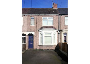 Thumbnail 3 bed terraced house for sale in Mapleton Road, Coventry