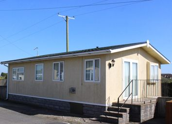 Thumbnail 3 bedroom mobile/park home for sale in Millands Caravan Park, Llanmaes, Llantwit Major
