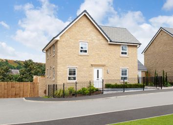 "Thumbnail 4 bed detached house for sale in ""Alderney"" at Grange Road, Golcar, Huddersfield"