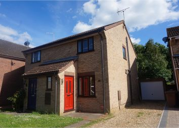 Thumbnail 2 bedroom semi-detached house for sale in Cropley Close, Bury St. Edmunds