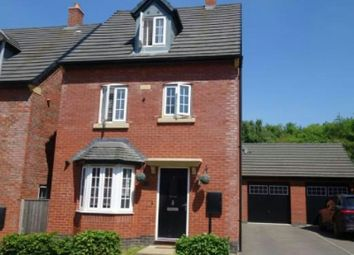 Thumbnail 4 bed detached house to rent in Mill Field Avenue, Countesthorpe, Leics.