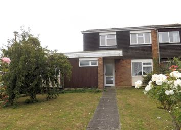 Thumbnail 3 bedroom end terrace house to rent in Tintagel Walk, Bedford