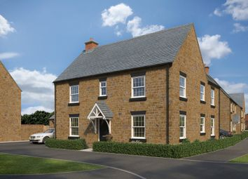 "Thumbnail 4 bed detached house for sale in ""Layton"" at The Leyes, Deddington, Banbury"