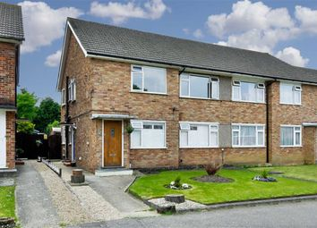 Thumbnail 2 bed maisonette for sale in Vernon Close, West Ewell, Surrey