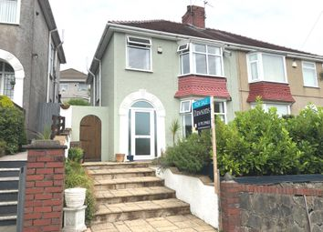 Thumbnail 3 bed semi-detached house for sale in Lon Coed Bran, Cockett, Swansea