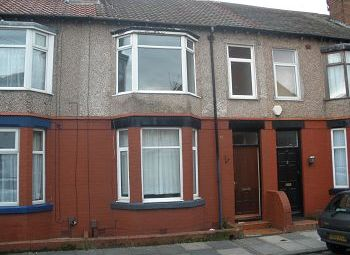 Thumbnail 3 bed terraced house to rent in Collingwood Road, Bebington, Wirral