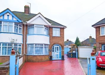 Thumbnail 3 bed semi-detached house for sale in Allen Close, Bedford