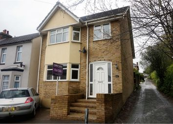 Thumbnail 4 bed detached house for sale in Kitchener Road, Dover