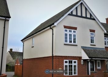 Thumbnail 3 bed semi-detached house to rent in Barnard Field, Amesbury, Salisbury