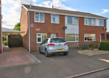 Thumbnail 3 bed semi-detached house for sale in Welland Way, Oakham