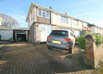 Thumbnail 3 bed semi-detached house for sale in Torridge Close, Plympton, Plymouth