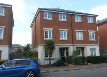 Thumbnail 3 bed town house to rent in Downhall Park Way, Rayleigh
