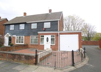 Thumbnail 2 bed semi-detached house for sale in Bede Crescent, Washington