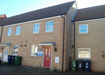Thumbnail 2 bedroom terraced house to rent in Meadow Rise, Huntingdon