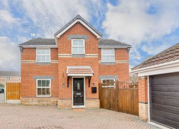 Thumbnail 4 bed detached house for sale in St Marks Close, Worksop, Nottinghamshire