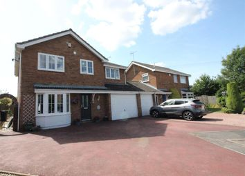 Thumbnail 4 bed detached house for sale in Taylor Crescent, Stratton, Swindon