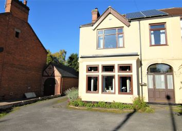 Thumbnail 3 bed semi-detached house for sale in Derby Road, Uttoxeter