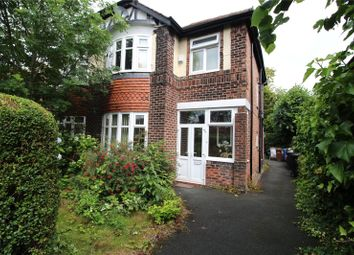 Thumbnail 3 bed semi-detached house for sale in Gladstone Grove, Heaton Moor, Stockport, Cheshire