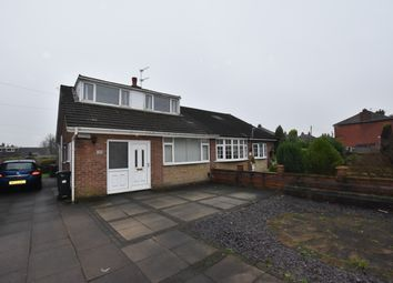 Thumbnail 3 bed semi-detached bungalow to rent in Buckley Lane, Farnworth, Bolton