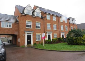 Thumbnail 4 bed town house for sale in Croyland Drive, Elstow, Bedford