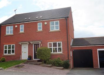 Thumbnail 3 bedroom semi-detached house for sale in Blackberry Court, Clowne, Chesterfield