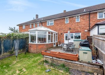 Thumbnail 3 bed terraced house for sale in Meadowview Close, Perham Down, Andover