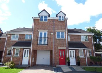 Thumbnail 4 bed town house for sale in Hayling Close, Bury